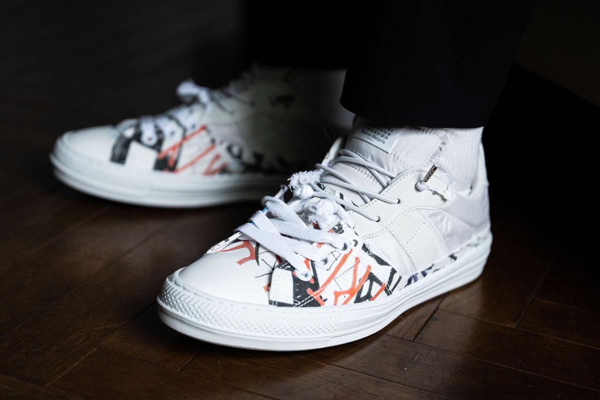 Maison Margiela  Evolution Low Top Sneakers