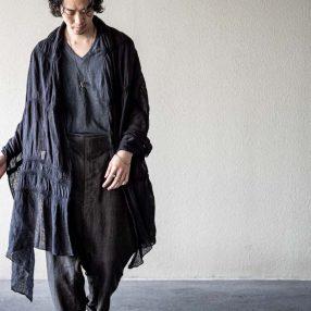 BIEK VERSTAPPEN Linen T-shirt  & 「纏う布」