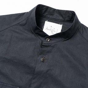 ARAKI YUU No Collar Utility Shirt