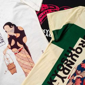 Ground Y × 河鍋暁斎 T-shirt Collection