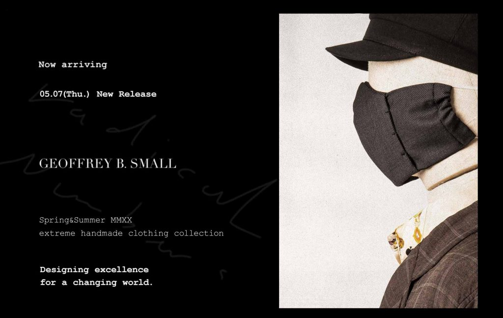 Geoffrey B.Small  2020spring&summer collection  5.7 Release