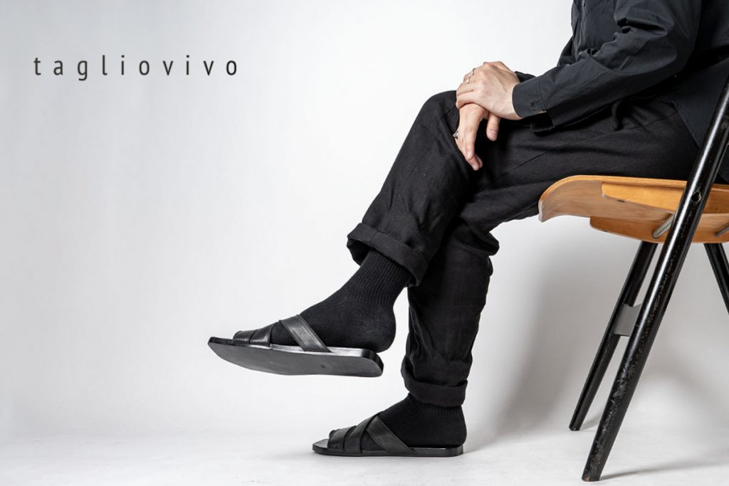 TAGLIOVIVO LEATHER SANDALS World Exclusive for HUES