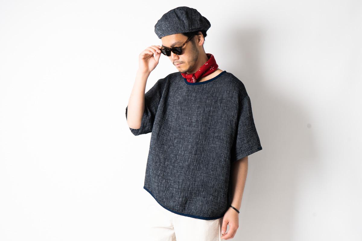 Porter Classic  Aloha Shirt & Sashiko  T-Shirt