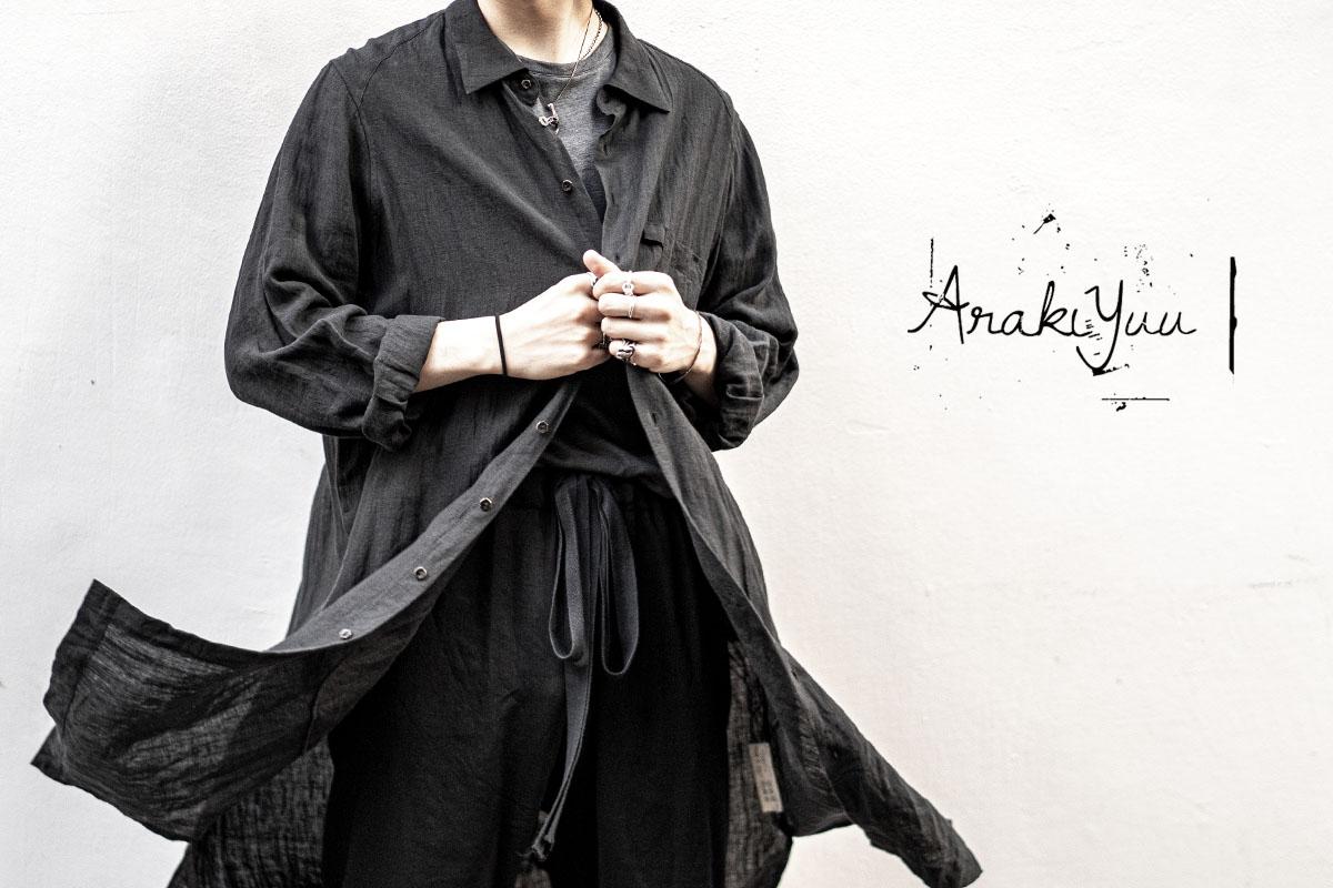 ARAKI YUU 20SS Stock List
