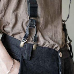ARAKI YUU Leather Suspender