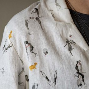 ALICE WAESE Pajama Shirt Style Image
