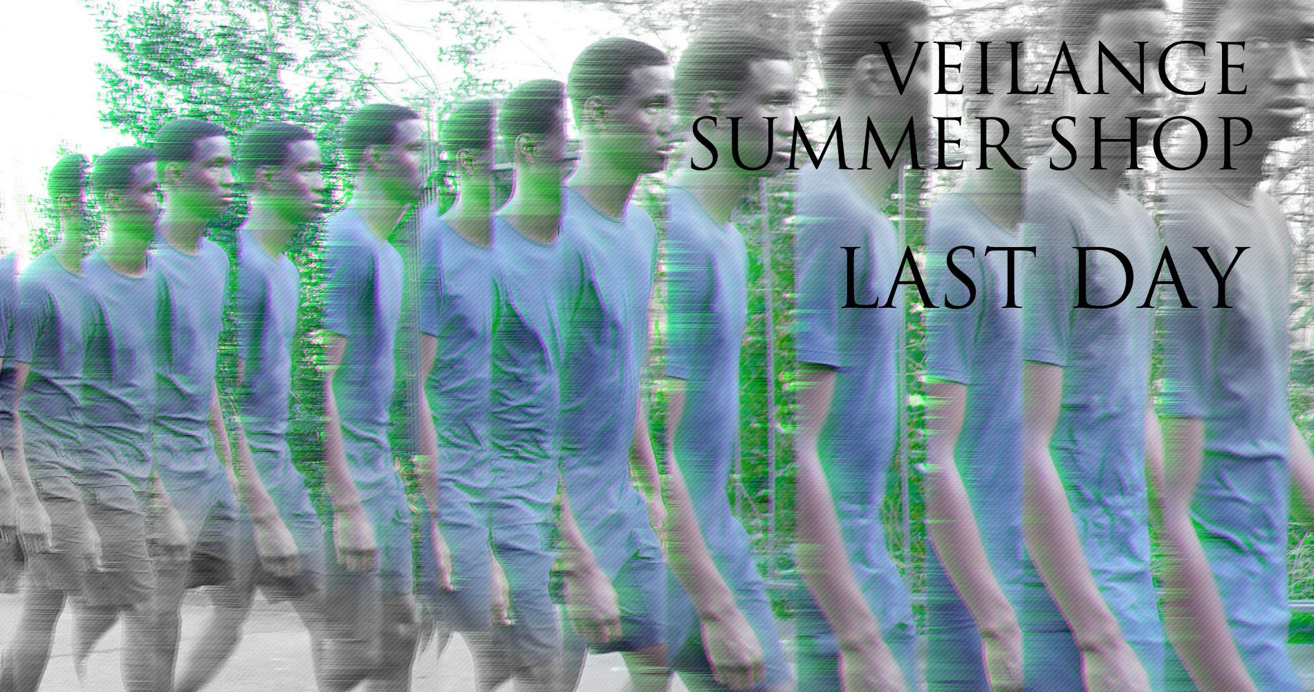 VEILANCE SUMMER SHOP LAST DAY