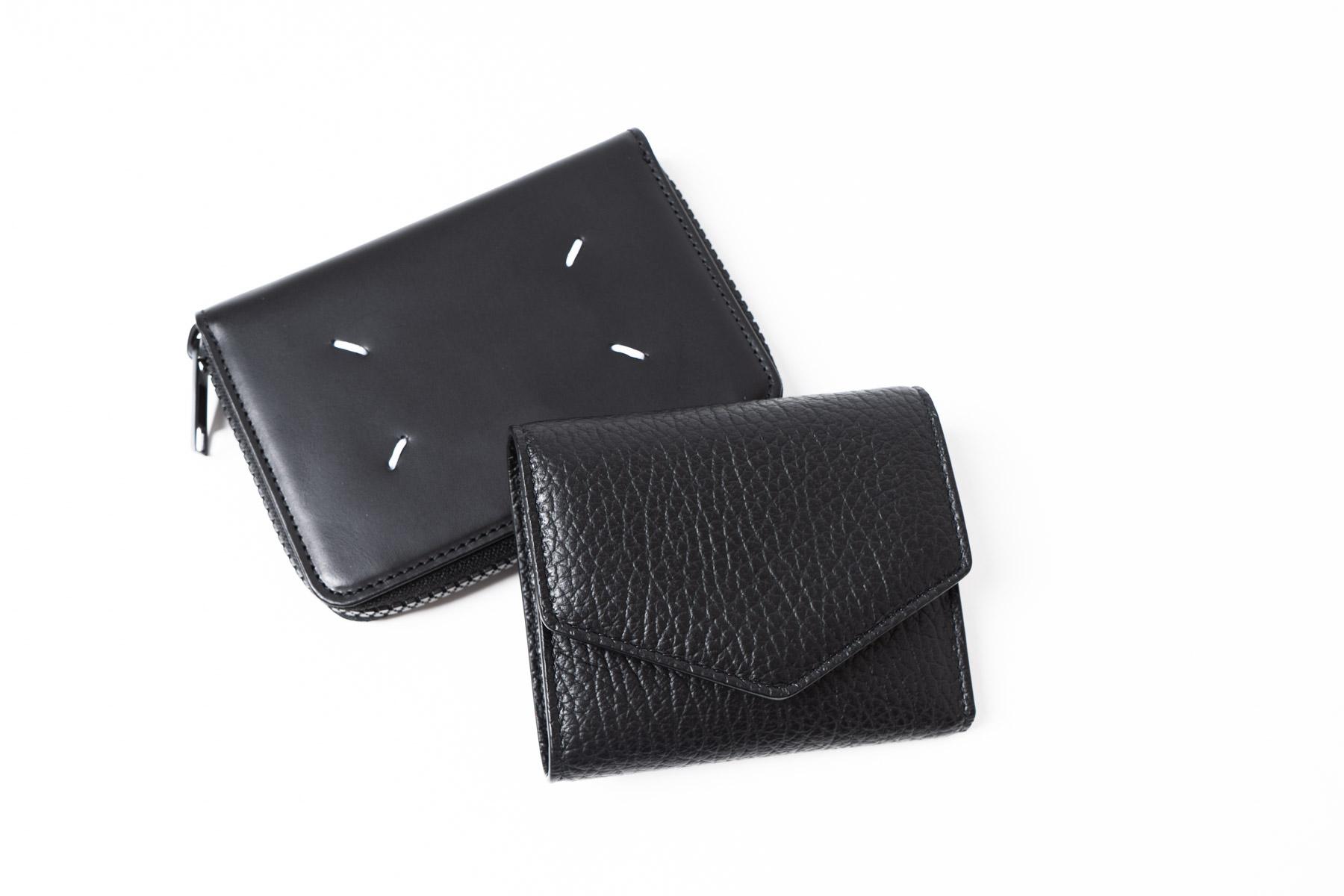 Maison Margiela  Tri-Fold Leather Wallet & Bi-Fold Zip Wallet
