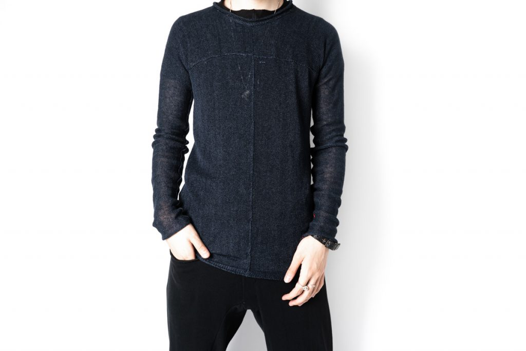 m.a+ Round Neck Cross Pullover