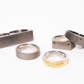Maison Margiela Silver Ring AUTUMN WINTER 2020