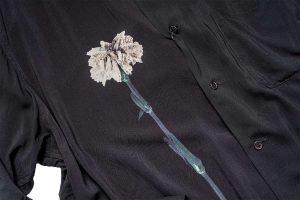 【YouTube】B YOHJI YAMAMOTO Flower Print Blouse B