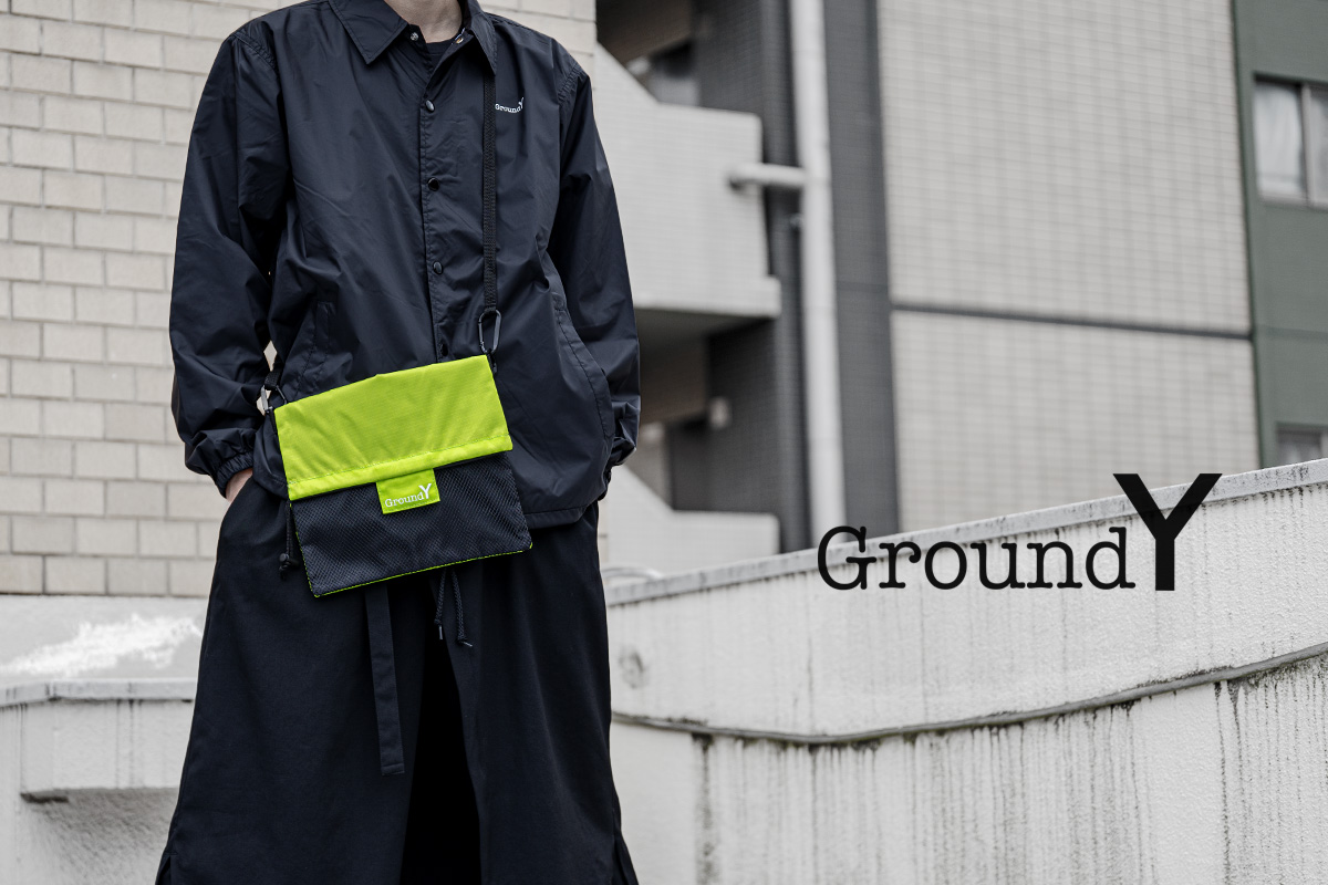 Ground Y 20-21AW 1st Delivery 7.22(wed) Release Start