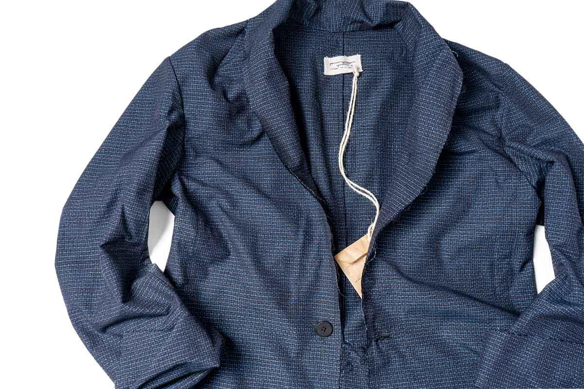 MARIA TURRI 大島紬 Silk Shirt Jacket