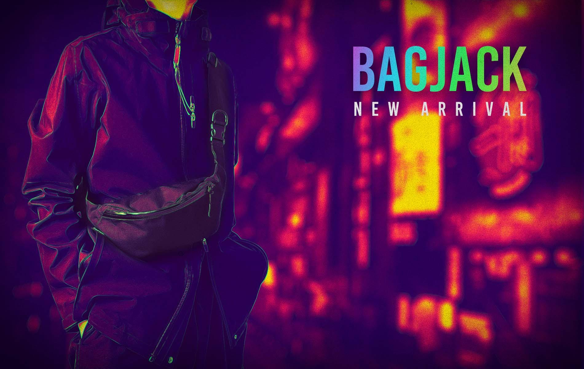 """""""bagjack"""" New Gear 4type Release Start!!"""