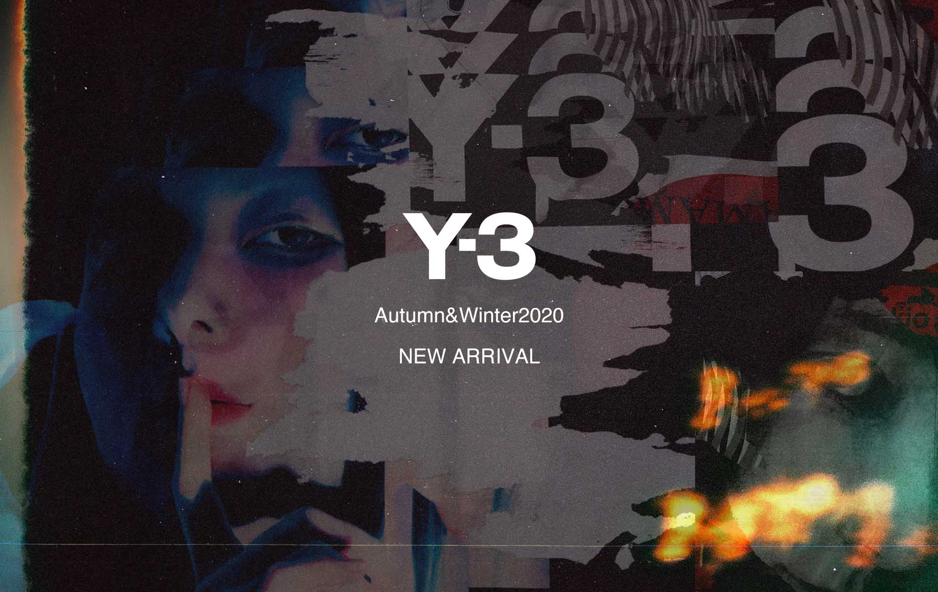Y-3  2020-21 AUTMUN / WINTER COLLECTION START !!