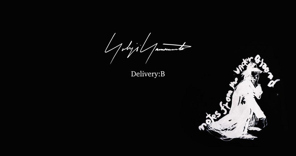 YOHJI YAMAMOTO 20-21AW COLLECTION Delivery : B