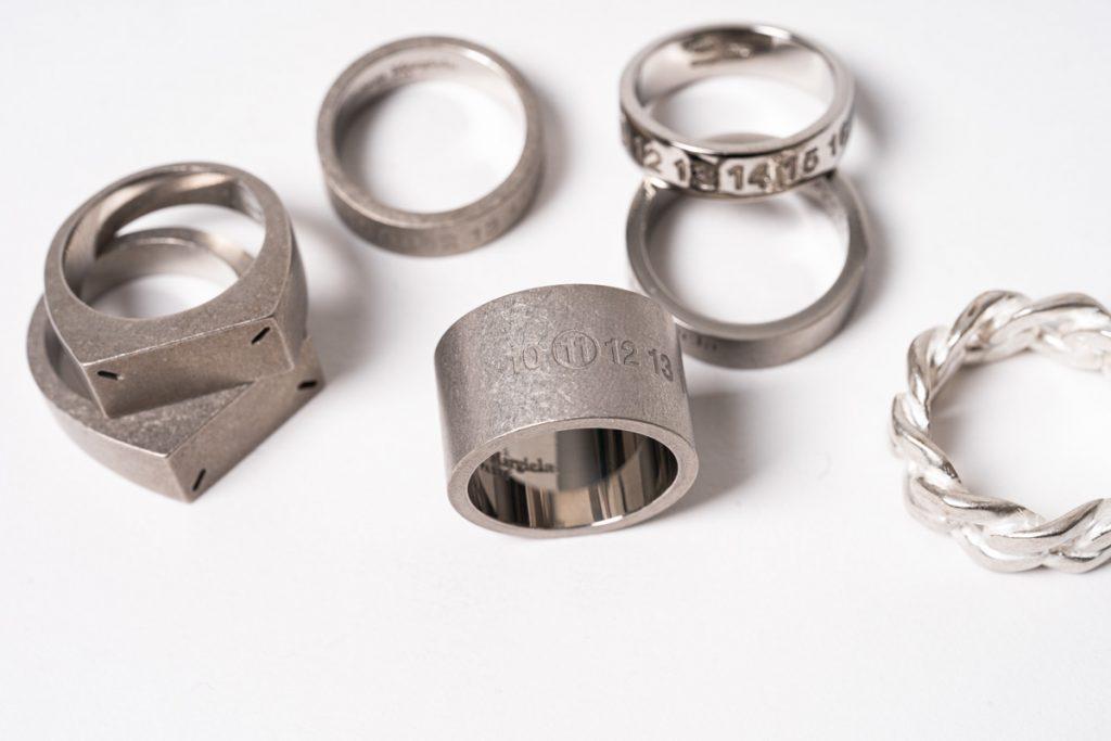 Maison Margiela Silver Ring Stock List