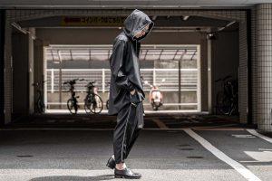 YOHJI YAMAMOTO Fastener Hooded Blouson