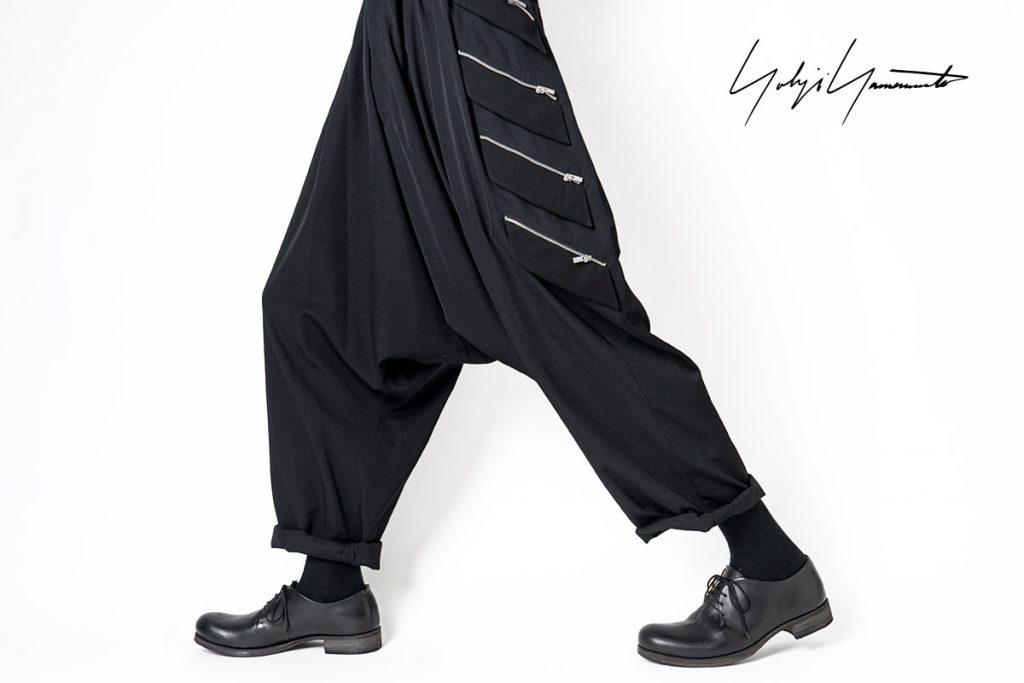 YOHJI YAMAMOTO Fastener Flap Pants