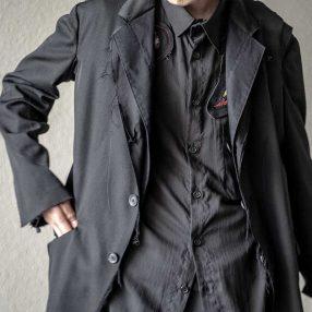 ヨウジヤマモト 20-21AW 3B Layered Reversible Jacket