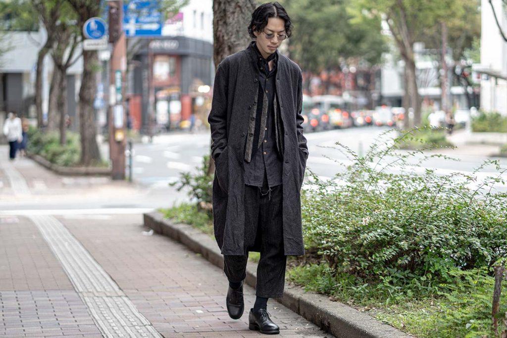 ARAKI YUU 2020-21AW Row Cut Atelier Coat