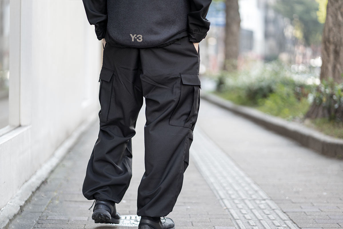 Y-3 2020-21AW Classic Winter Wool Cargo Pants