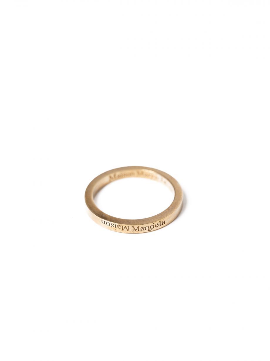 Skinny Reverse Logo Ring [2020-21AW]