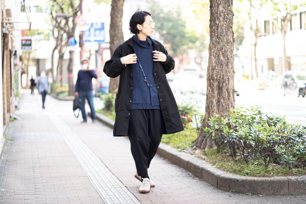 ポータークラシックの チノ シャツ コート