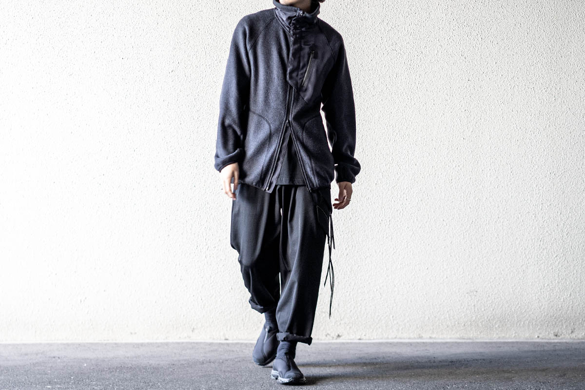 Y-3 2020-21AW Ch1 Fleece Track Jacket
