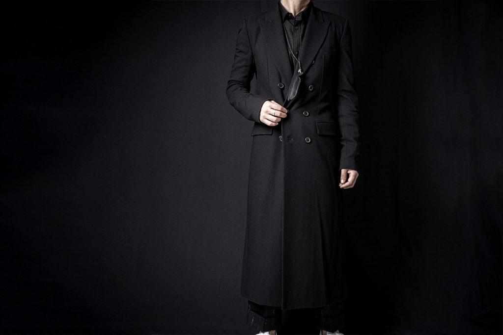 ANN DEMEULEMEESTER 20-21AW Coat Jasmin Black