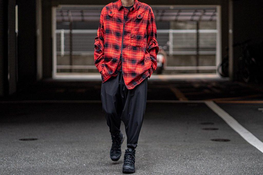 ワイズ バングオン! 2020-21AW Suspender Check Shirt