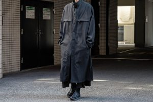 ヨウジヤマモト 20-21AW Fastener Pocket Coat
