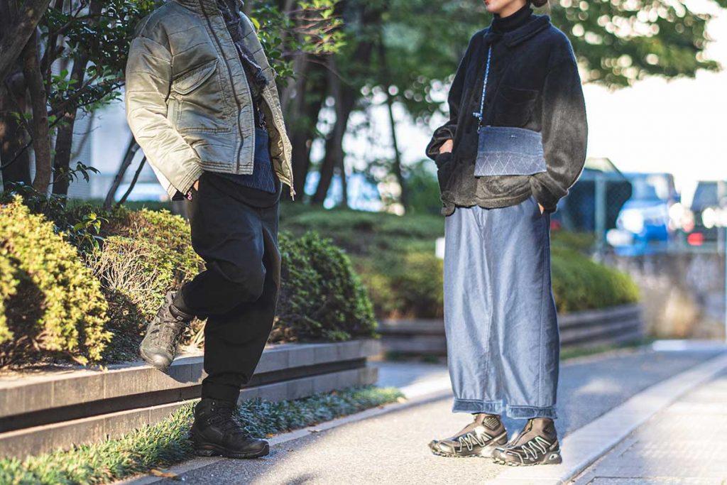 ポータークラシックのマッシュ パディング ジャケット とフレンチ フリース ジャケット