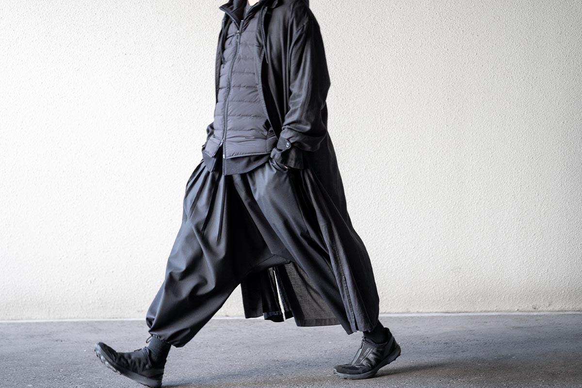 ワイズ バングオン! 2020-21AW Asymmetry Sarouel Pants