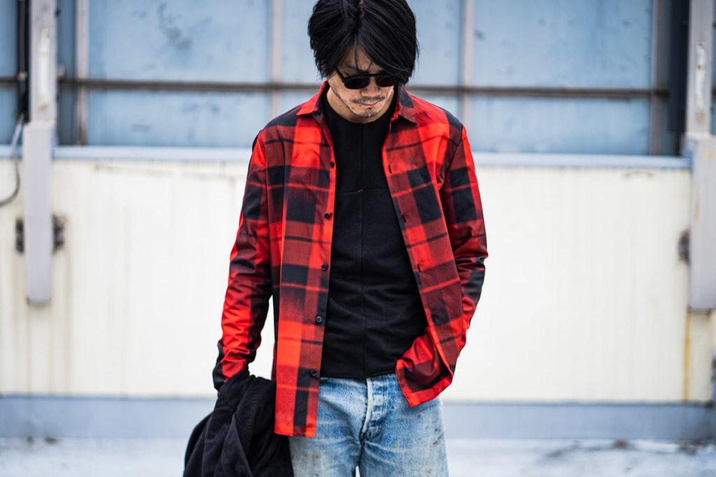 m.a+「Sartor#」のシルクシャツ