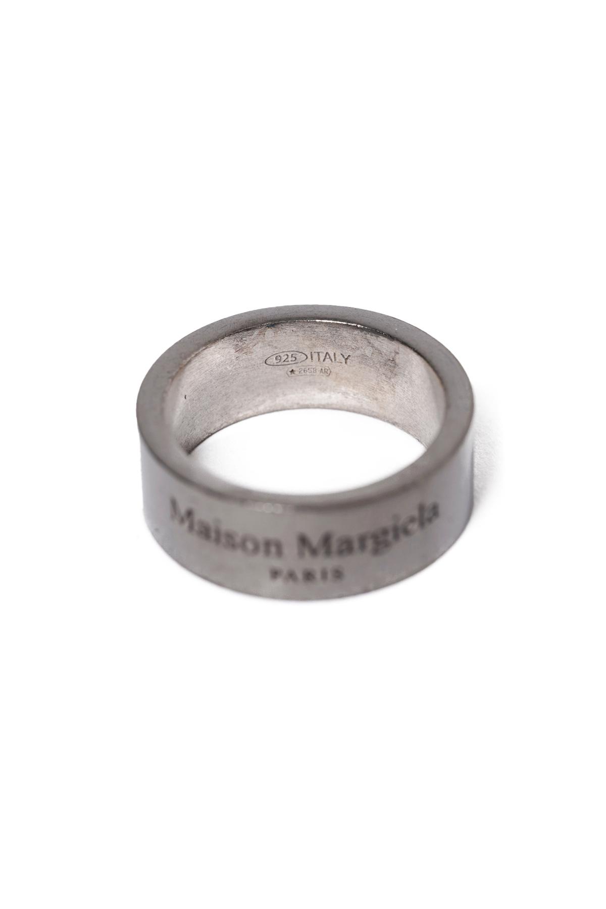 Logo Ring Antique Silver [2021SS]