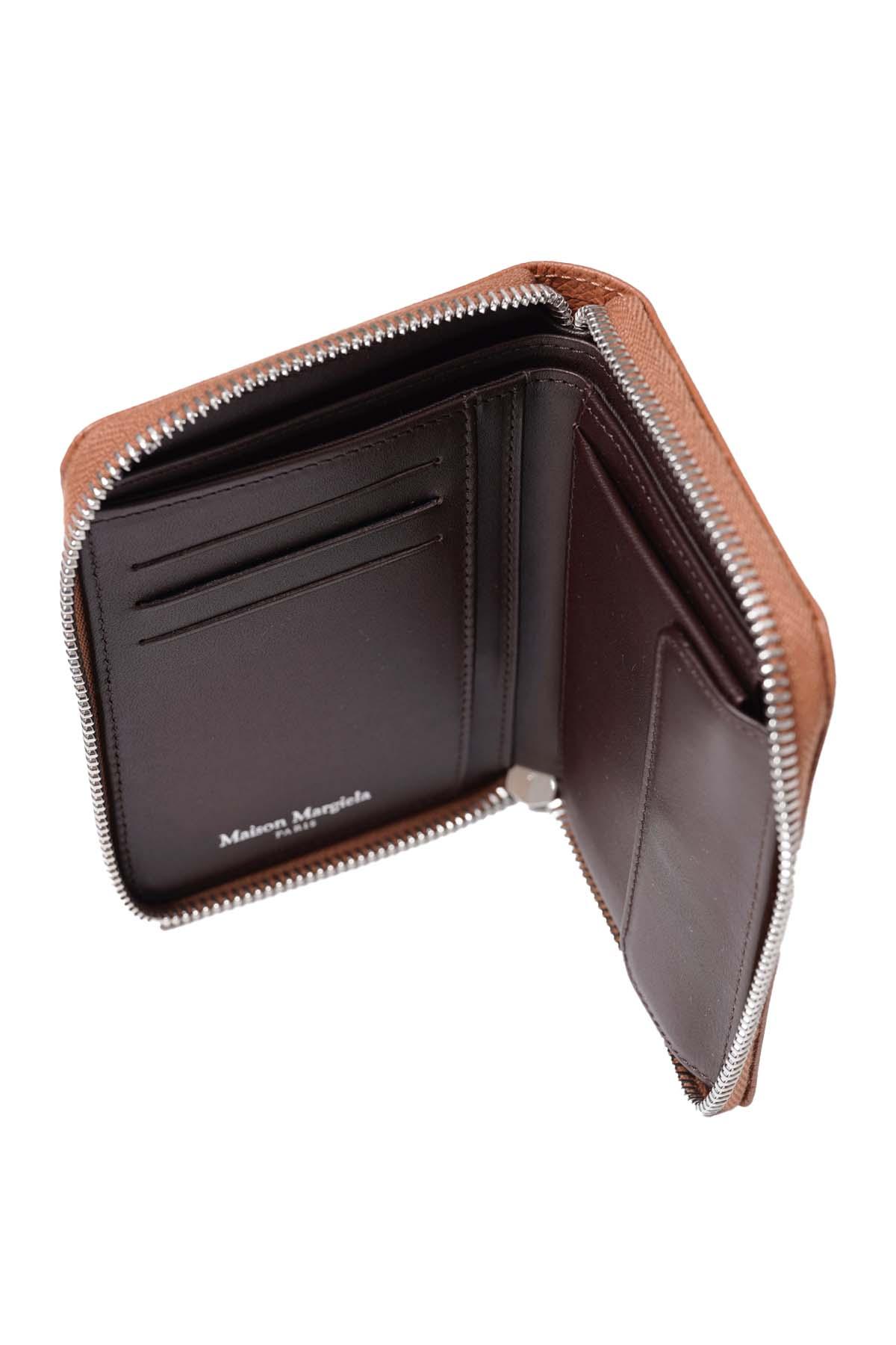 Round Zip Wallet Brown[2021SS]