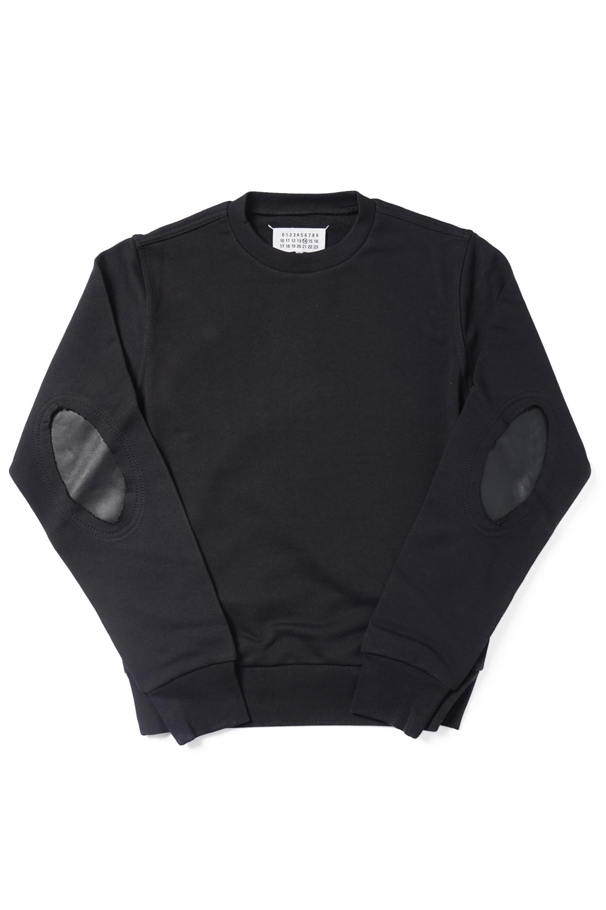 Elbow Patch Sweat Black[2021SS]