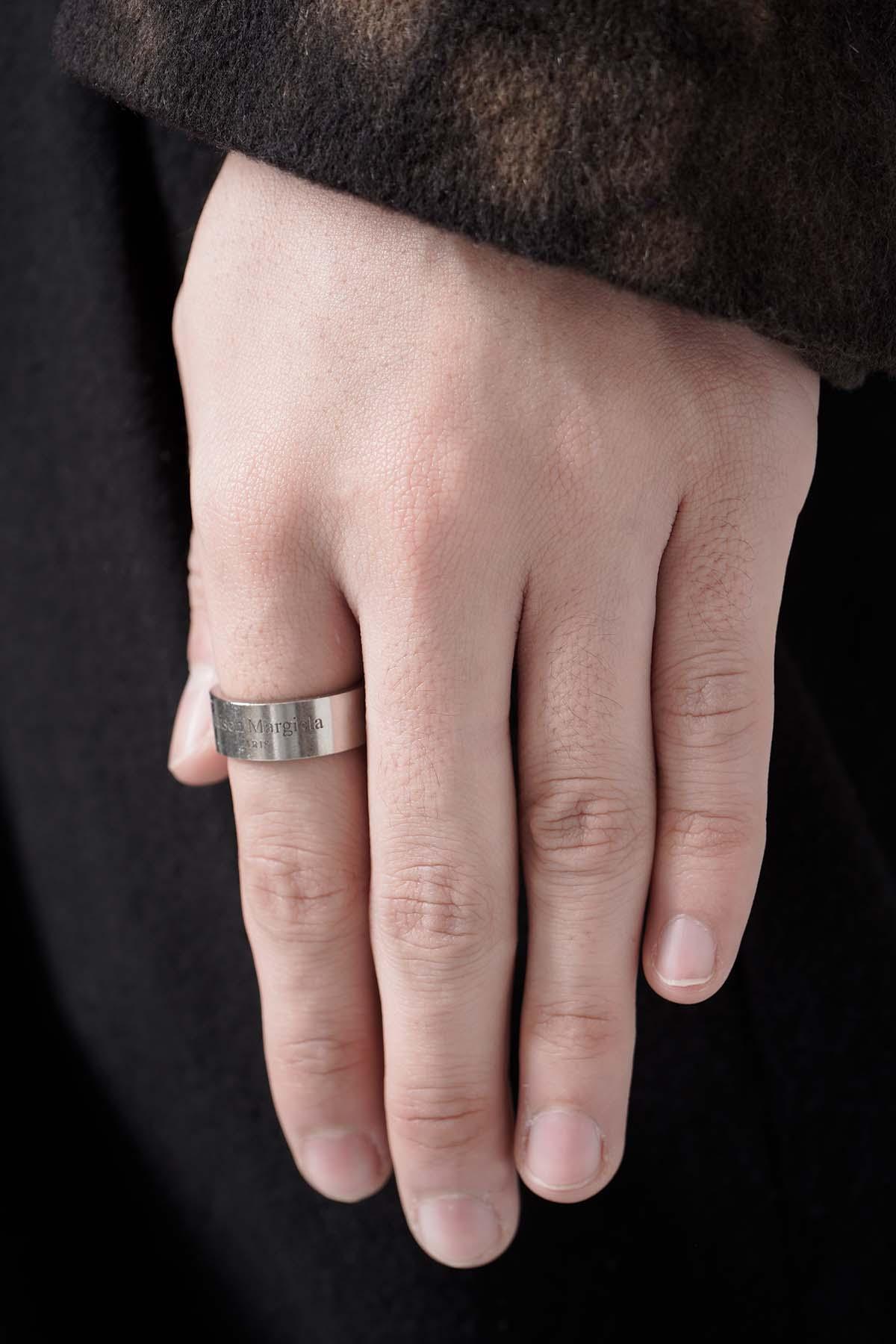 Logo Ring Silver [2021SS]