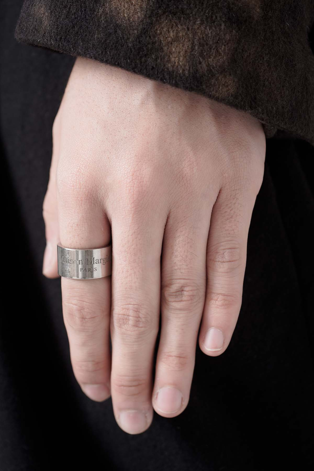 Thick Logo Ring [2021SS]
