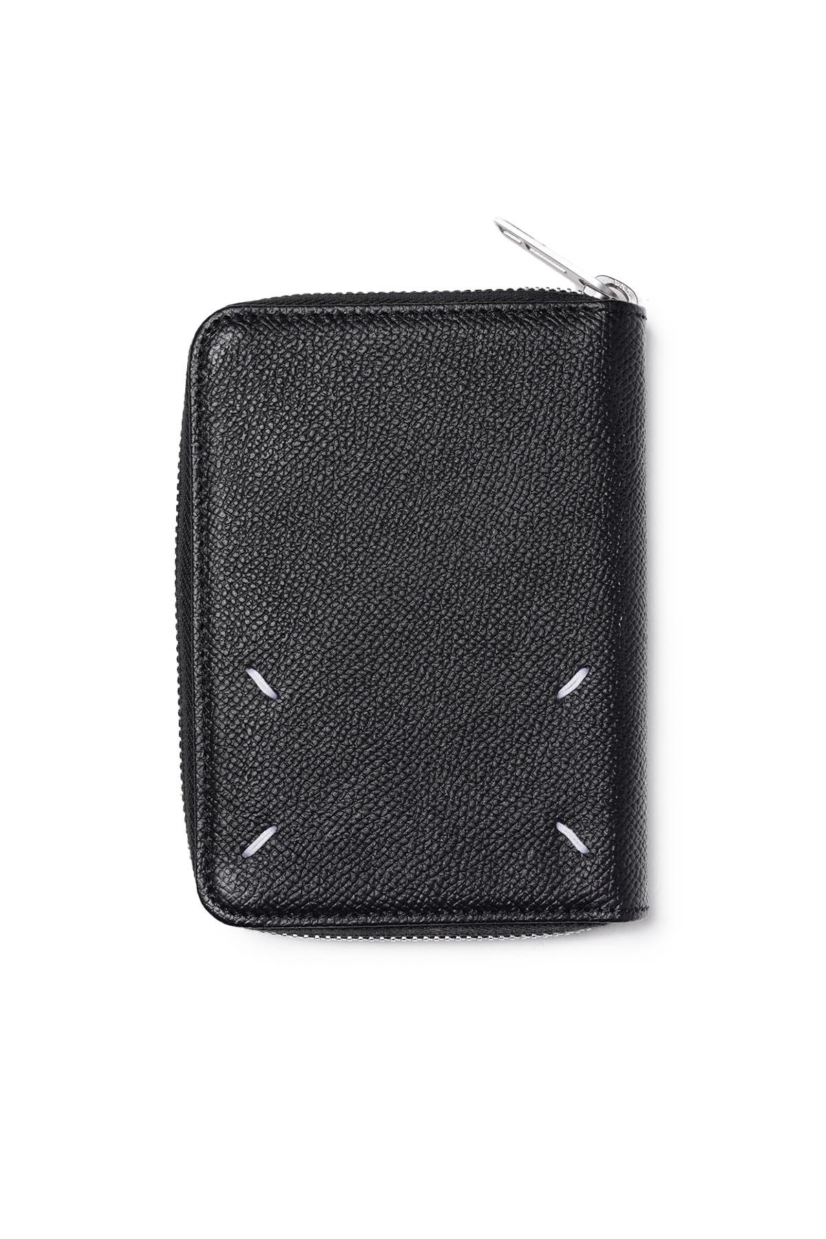 Round Zip Wallet Black[2021SS]