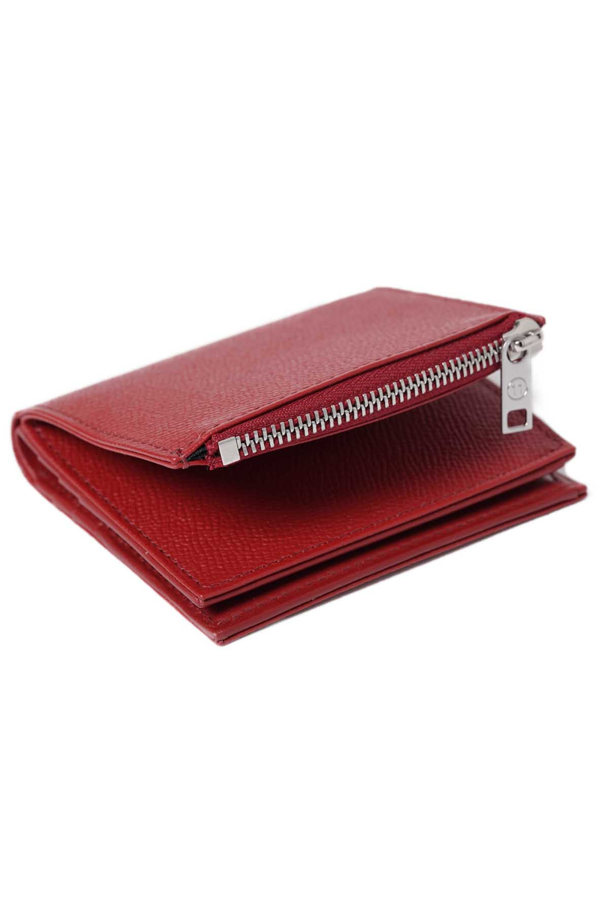 Bi-Fold Wallet Mini Wallet Red[2021SS]