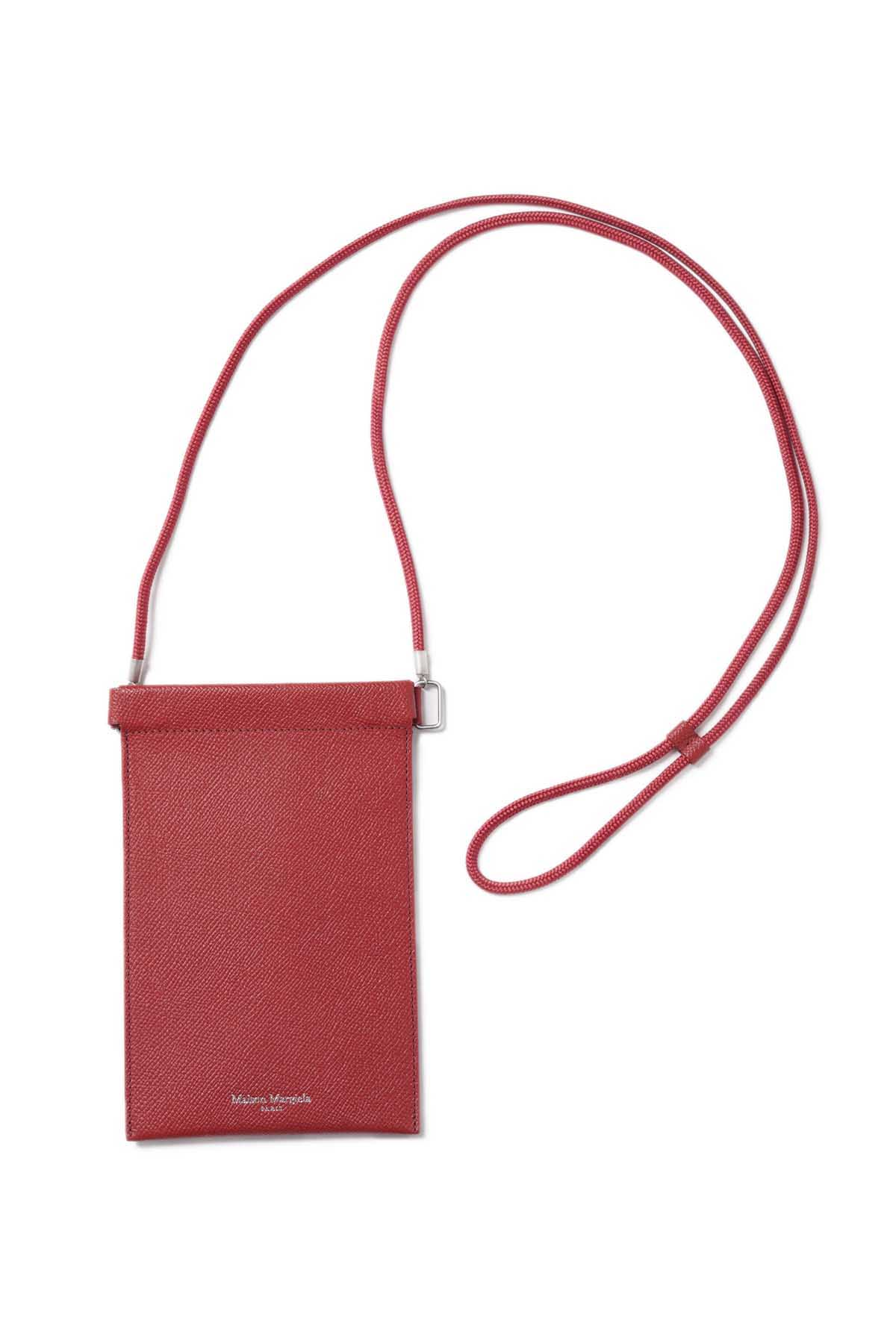 Leather Document Holder Red[2021SS]