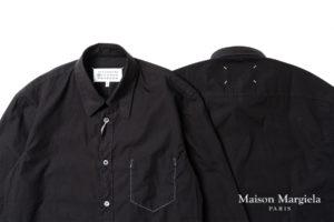 メゾンマルジェラのアウトサイドインポケット シャツ