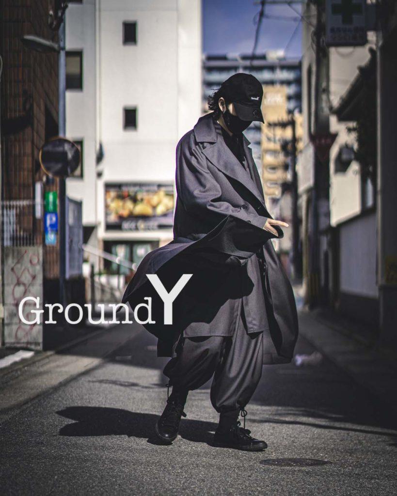 Ground Y 2021年春夏 ラグランビッグコート