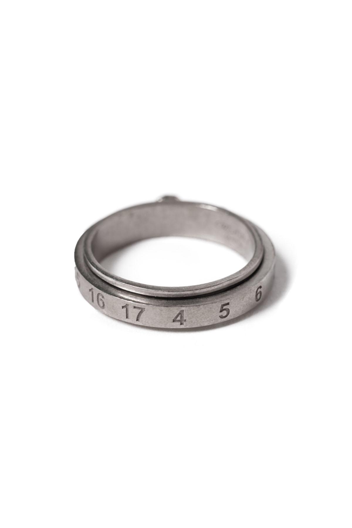 Rotating Numer Skinny Ring [2021SS]