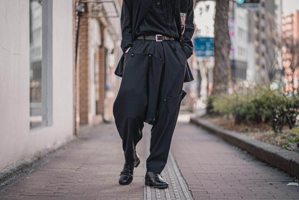 ヨウジヤマモト 21SS Cover Sarrouel Pants