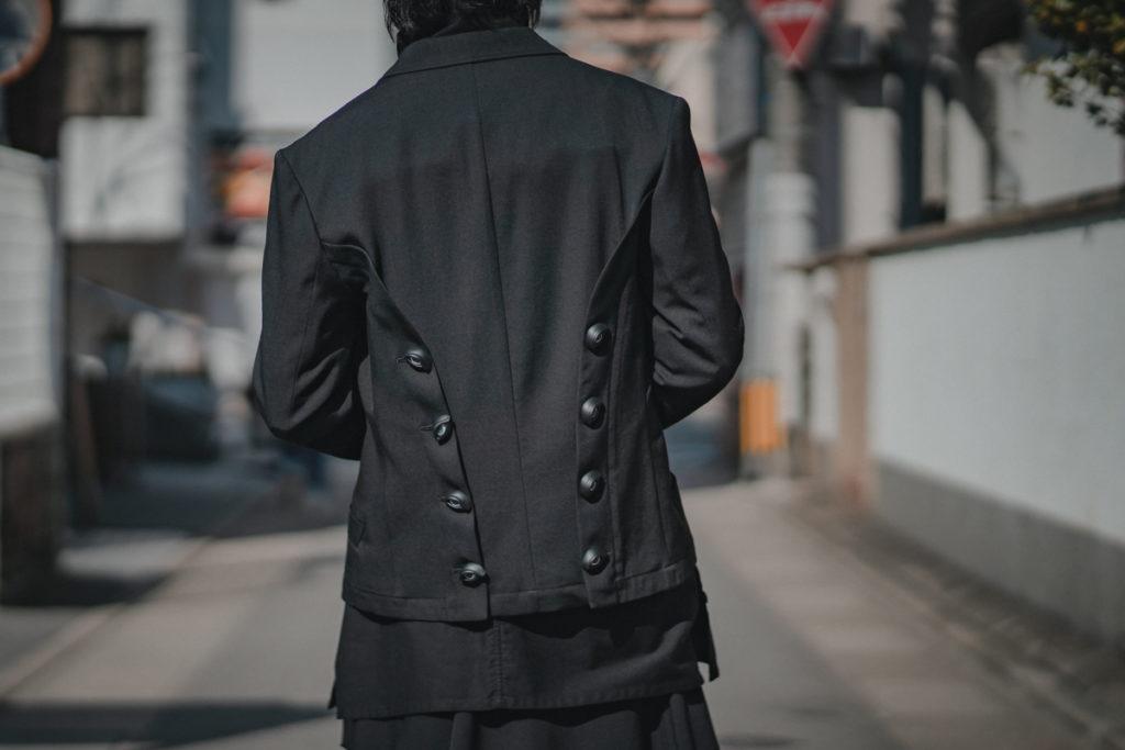 ヨウジヤマモト 21SS Eye Button Short Jacket