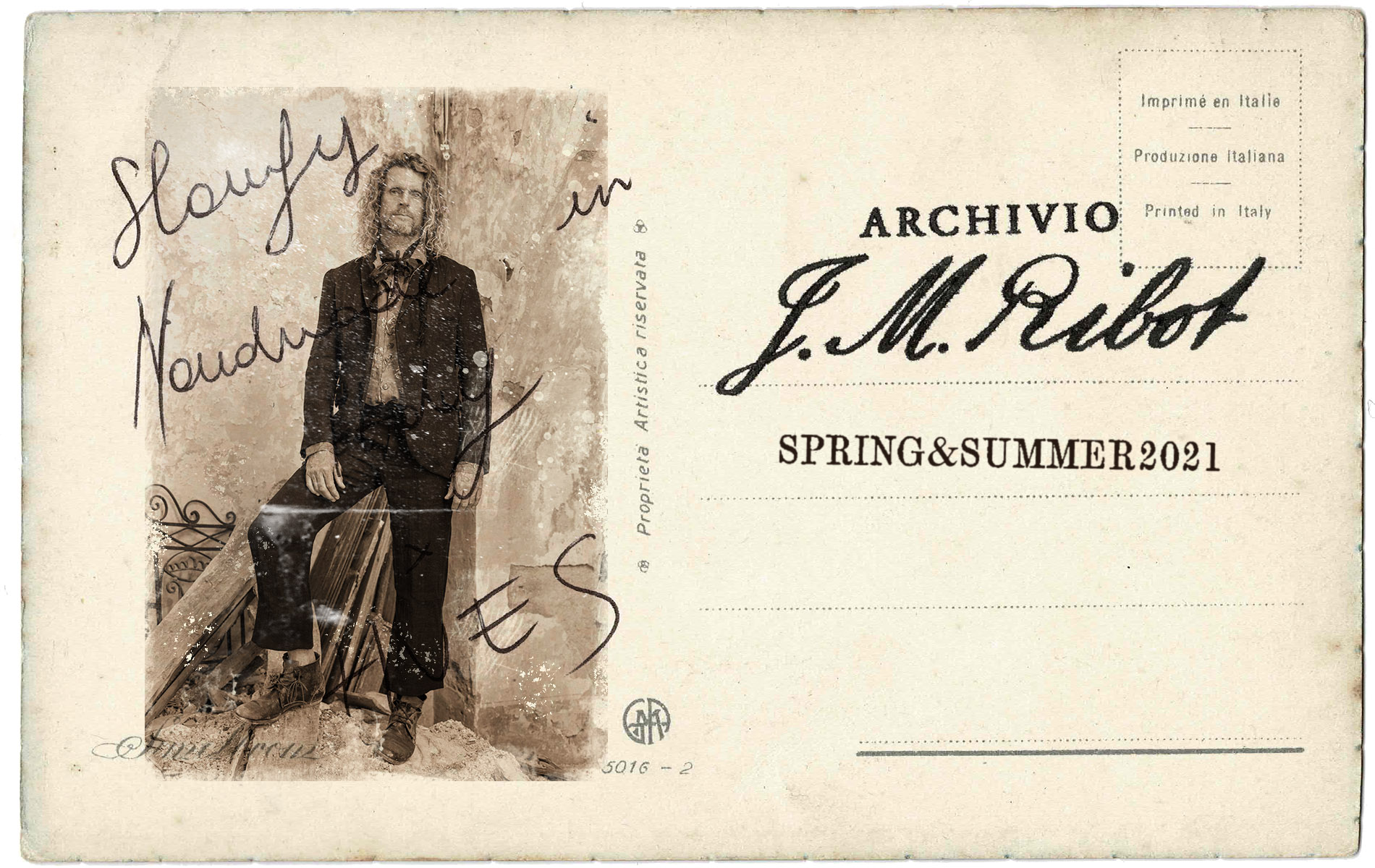 ARCHIVIO J.M.Ribot 2021 SPRING SUMMER START!!!
