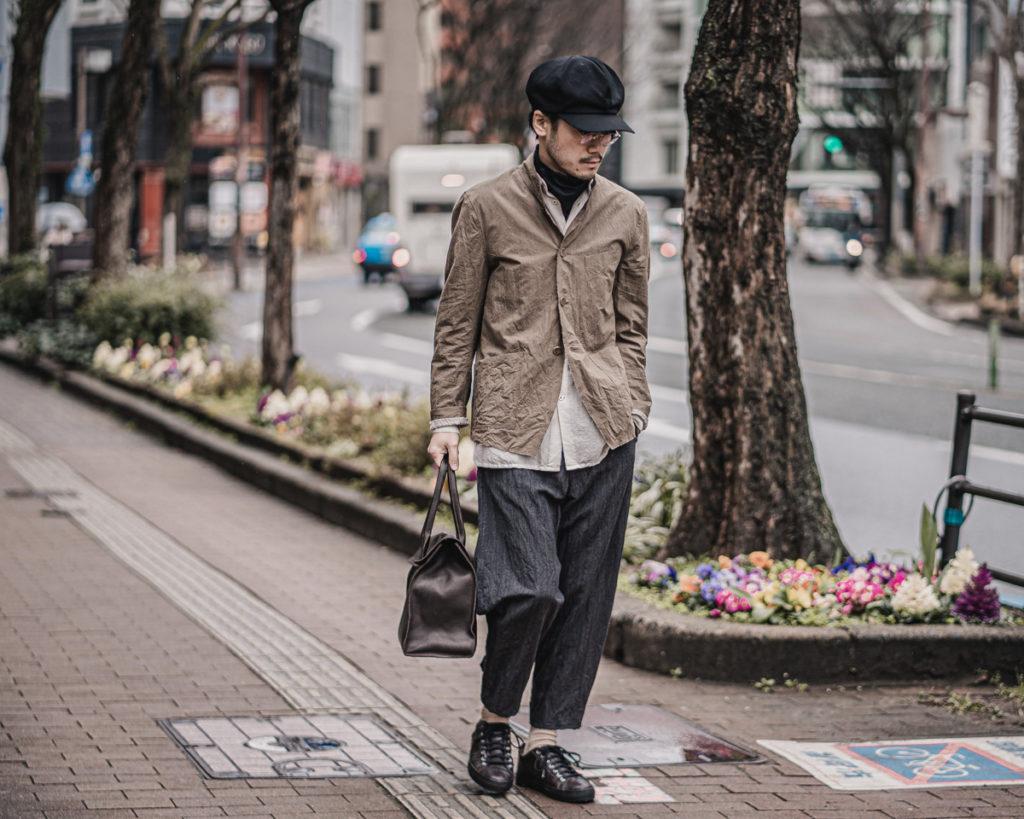 ARAKI YUU / Raw Cut 4B Jerkin Jacket